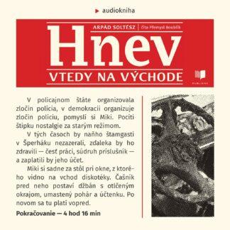 Audiokniha Hnev - Arpád Soltész
